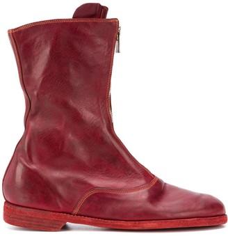 Guidi Worn Effect Boots