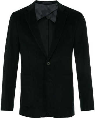 Cerruti Corduroy Single-Breasted Blazer