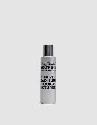 """Comme des Garcons Andy Warhol """"You're In"""" I Never Read Perfume"""