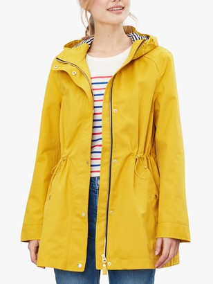 Joules Shoreside Waterproof Coat, Antique Gold
