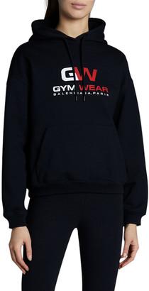 Balenciaga Gym Wear Logo Hoodie