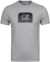 Cp Company Grey Marl Jersey Short Sleeve T-shirt