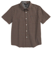 Volcom Arthur Check Woven Shirt (Big Boys)