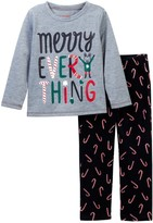 Joe Fresh Holiday Pajama Set (Toddler & Little Girls)
