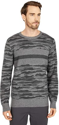 Obermeyer Chase Camo Sweater (Knightly) Men's Clothing