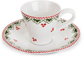 Portmeirion 2-Pc Plum Fairy Espresso Set