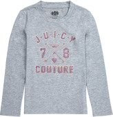 Juicy Couture Logo-print cotton-jersey t-shirt 4-14 years