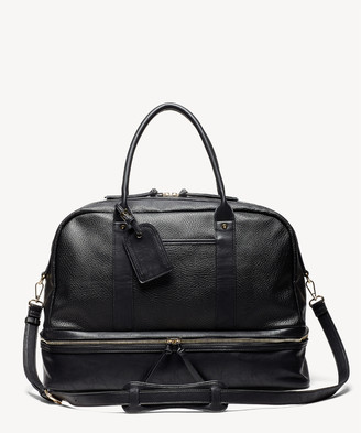 Sole Society Women's Mason Weekender Vegan Leather In Color: Black 3 Bag From