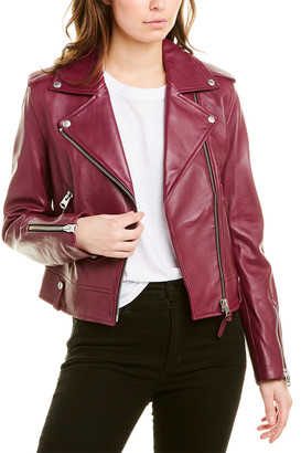 Mackage Classic Leather Moto Jacket
