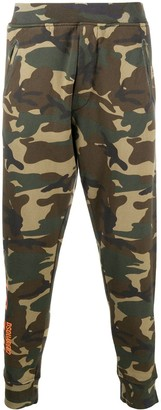 DSQUARED2 Icon camouflage-print track pants