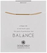 Dogeared Bar Pendant Bracelet