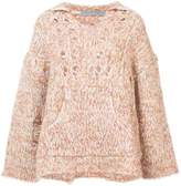 Raquel Allegra oversized knit jumper