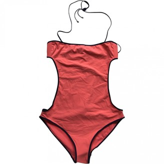 Chloé Red Synthetic Swimwear