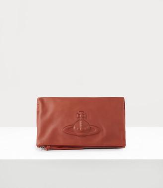 Vivienne Westwood Chelsea Clutch Orange
