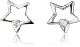 Forzieri 0.04 ct Diamond Star 18K Gold Earrings