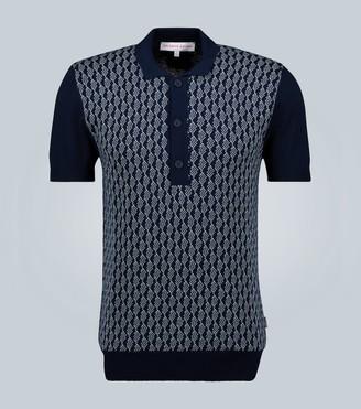 Orlebar Brown Rushton intarsia polo shirt