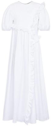 Cecilie Bahnsen Chloe cotton-blend poplin dress