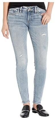 Silver Jeans Co. Suki Mid-Rise Curvy Fit Skinny Leg Jeans in Indigo (Indigo) Women's Jeans