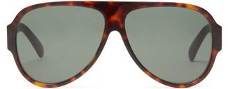 Givenchy Aviator Tortoiseshell-acetate Sunglasses - Tortoiseshell