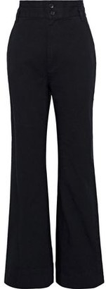 Rebecca Minkoff Flora Stretch-cotton Twill Flared Pants