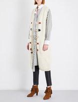 Loewe Chunky-knit wool cardigan
