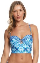 LaBlanca La Blanca True Blue Underwire Midkini Top 8154671