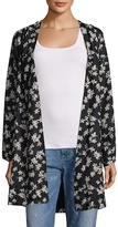 Lucca Couture Kaylee Floral Kimono