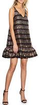 Cynthia Rowley Metallic Sleeveless A-Line Dress