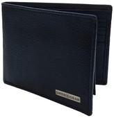 Swiss Gear Men's Slim Bifold Pebbled Leather Wallet - Black