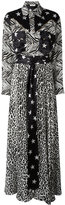 Faith Connexion stars print dress - women - Silk/Cotton/Polyester/Spandex/Elastane - 36