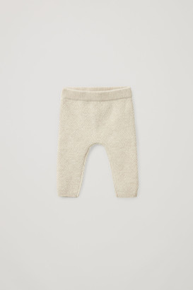 Cos Textured Cashmere Leggings