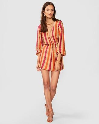 SUBOO Jacquelyn Knit Wrap Dress