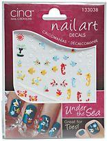 Cina Nail Creations Nail Art 3-D Decals Under The Sea