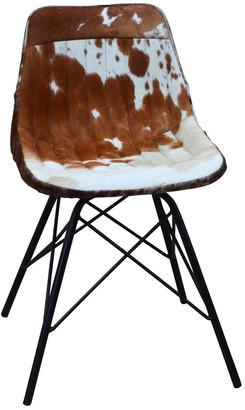 Phil Bee Interiors Eames Style Cowhide Chair