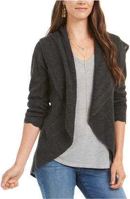Style&Co. Style & Co Petite Pointelle Shawl-Collar Cardigan