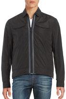 Calvin Klein Jeans Zip-Up Trucker Jacket