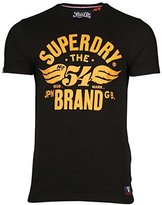 Superdry Mens 54 Brand Cold Dye T-Shirt