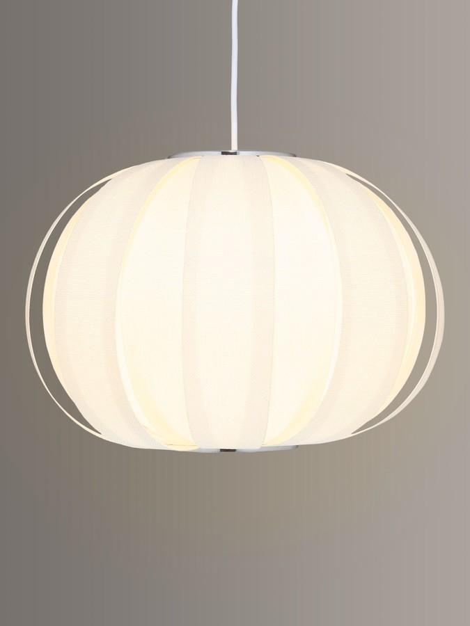 John Lewis & Partners Sumet Panels Easy-to-Fit Ceiling Shade, Cream