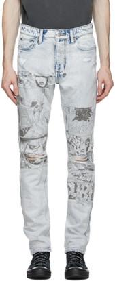 Ksubi Blue Chitch Comik Jeans