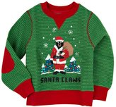 "Little Blue House by Hatley ""Little blue House Santa Claws Kids ""Ugly"" Christmas Sweater """