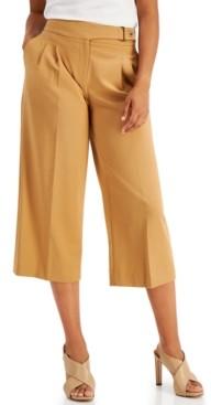 Calvin Klein Luxe Wide-Leg Pants