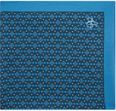 Canali Geometric Diamond Silk Pocket Square