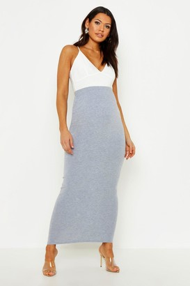 boohoo Maternity Over The Bump Maxi Skirt