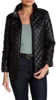 Ellen Tracy Quilted Short Jacket (Petite)