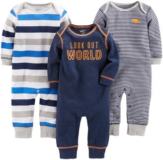 Simple Joys by Carter's 3-Pack Jumpsuits Romper
