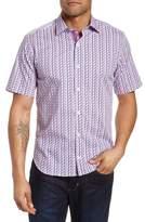 Tailorbyrd Slater Regular Fit Print Sport Shirt