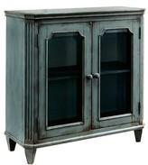 Rex Distressed Wooden 2 Door Cabinet One Allium Way