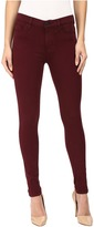 Hudson Nico Mid-Rise Ankle Skinny in Cabernet