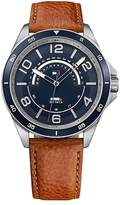 Tommy Hilfiger Sport Dress Watch With Leather Band