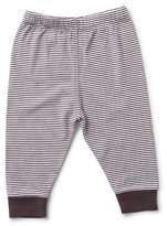 Munster Striped Pants for Baby in Black & White